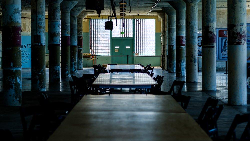 A view of Alcatraz's interior