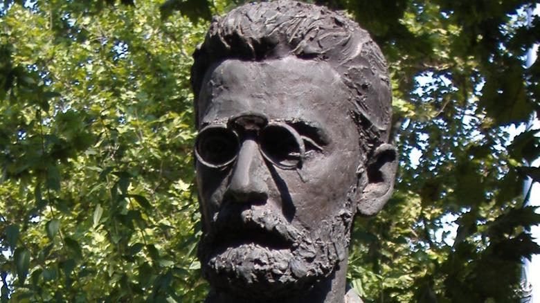 Statue of Joseph Pulitzer