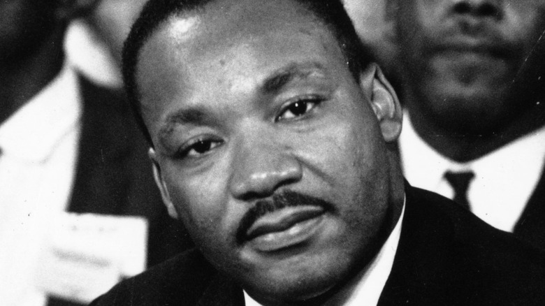 Dr. Martin Luther King, Jr. head cocked