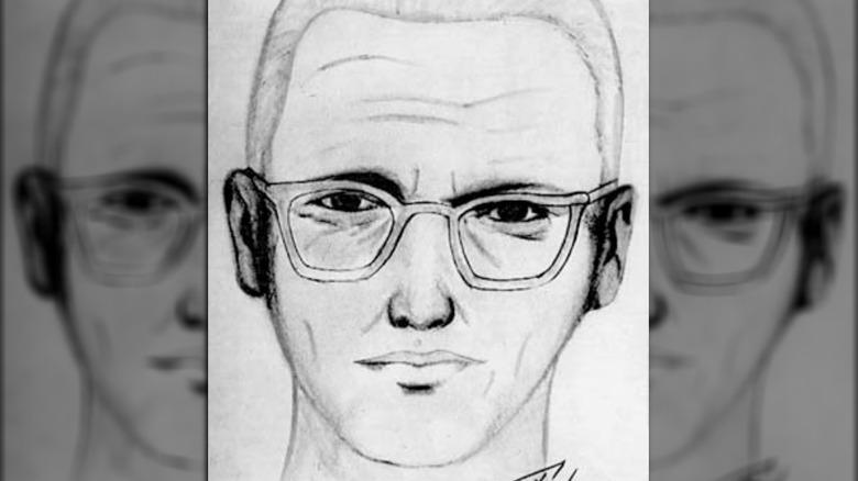 Sketch artist drawing, Zodiac Killer