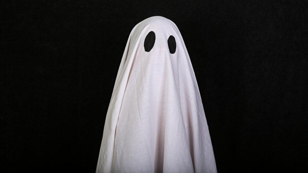 An artist's rendition of what an actual ghost looks like