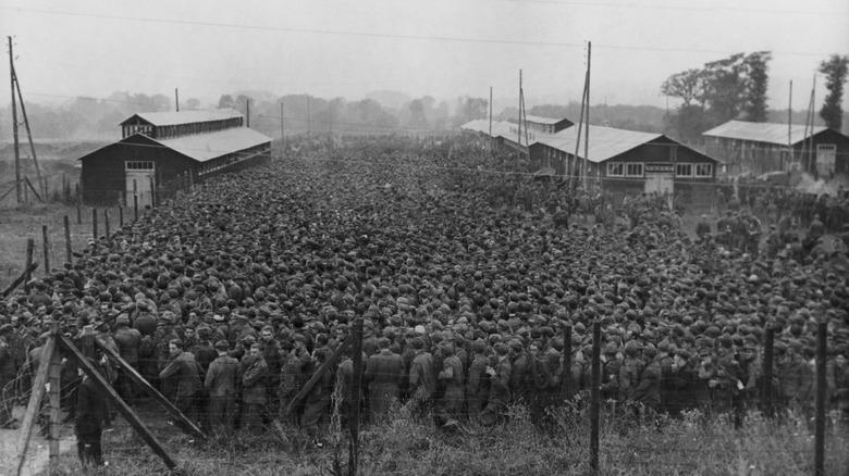 German POWs in France