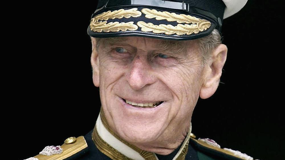 Prince Philip, formal military uniform