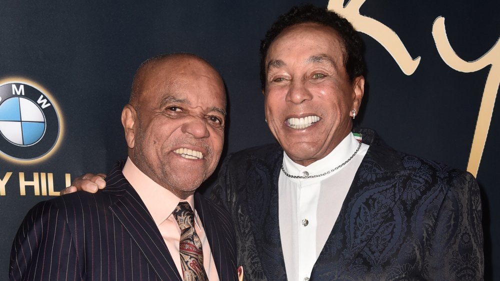 Berry Gordy and Smokey Robinson, 2019