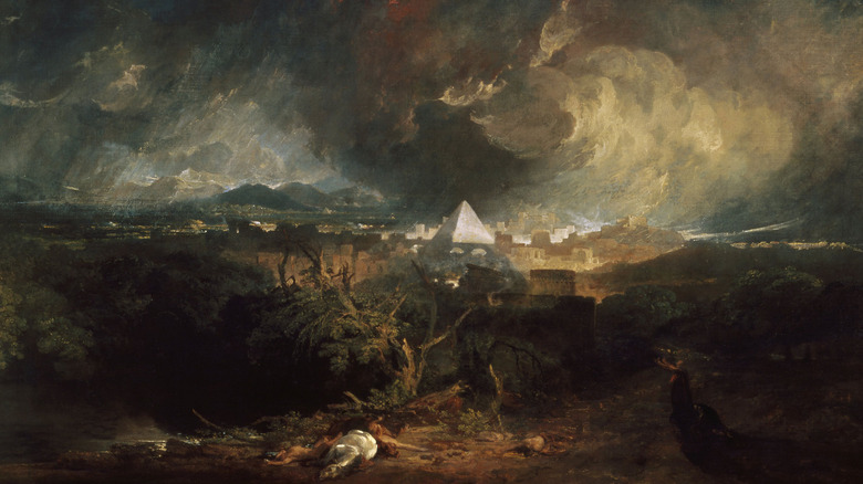 Fifth plague of Egypt Turner painting