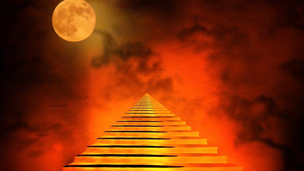 hellish stairway