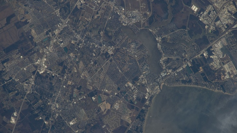 Aerial view of Texas taken during ISS Expedition 38