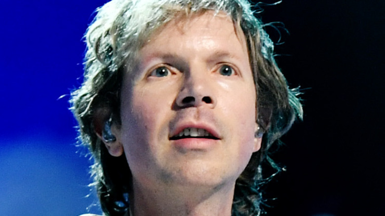 Beck on stage
