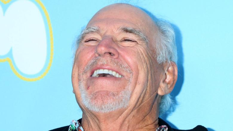 Jimmy Buffett laughing