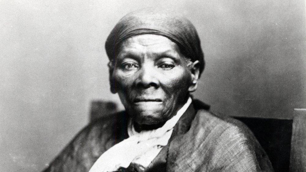 A photograph of Harriet Tubman, circa 1900