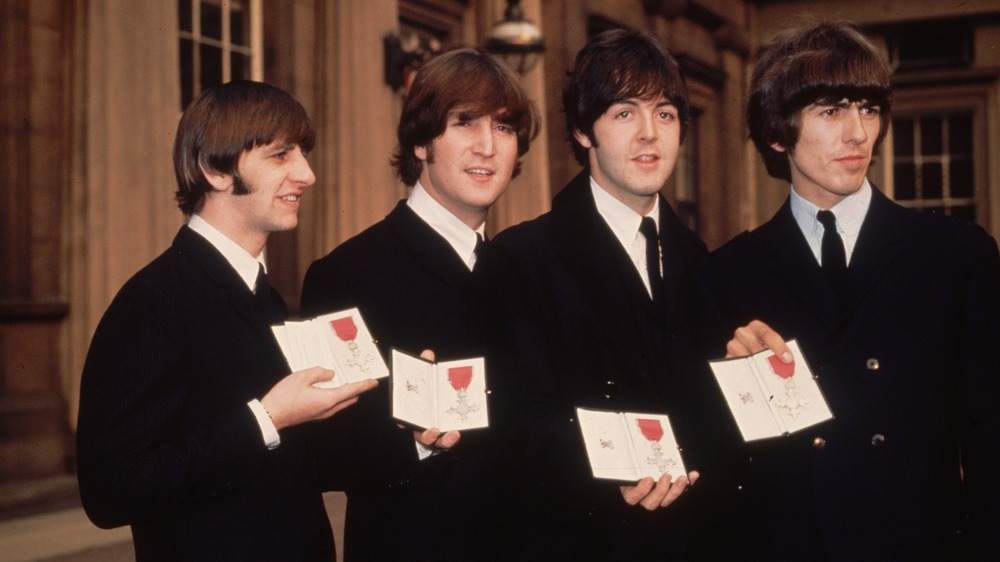 The Beatles are honored at Buckingham Palace