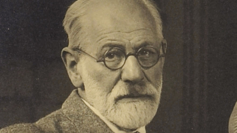 Sigmund Freud portrait from the 1920s