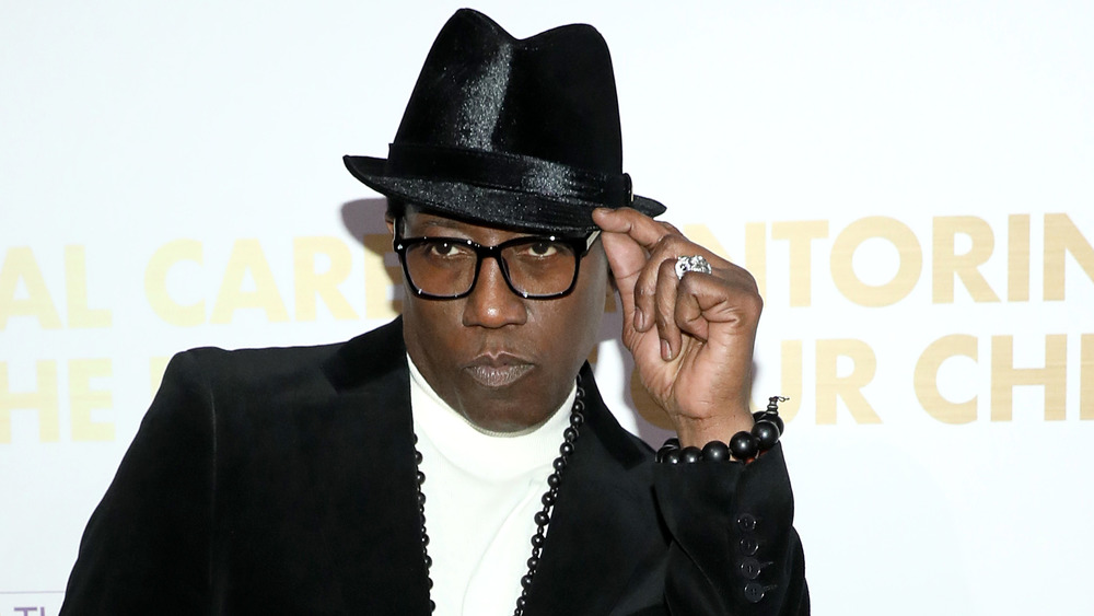 Wesley Snipes makes a red-carpet appearance