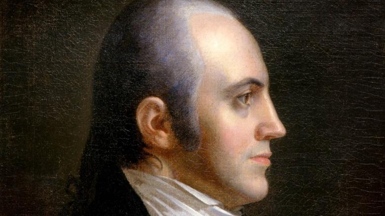 Aaron Burr by John Vanderlyn