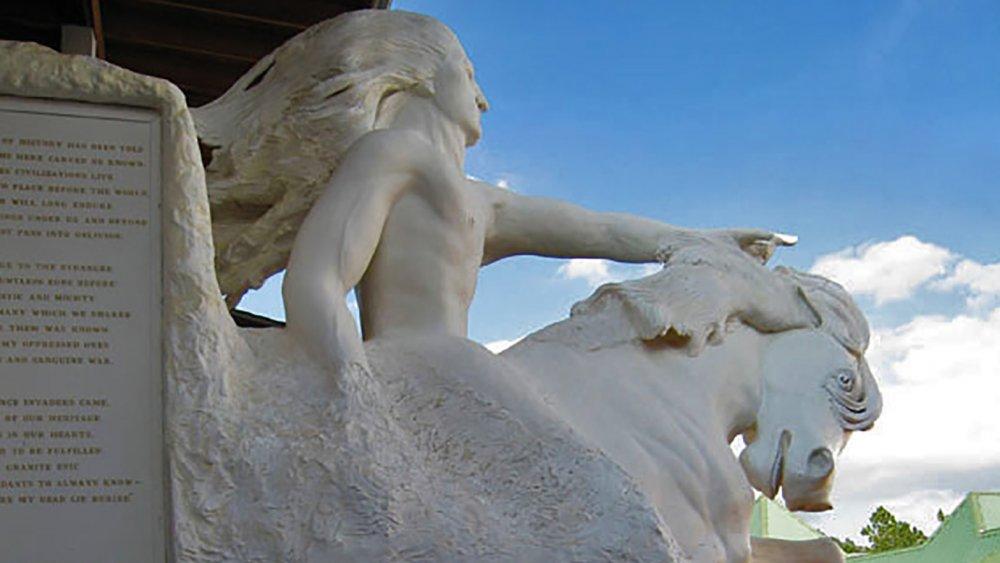 Crazy Horse scale model