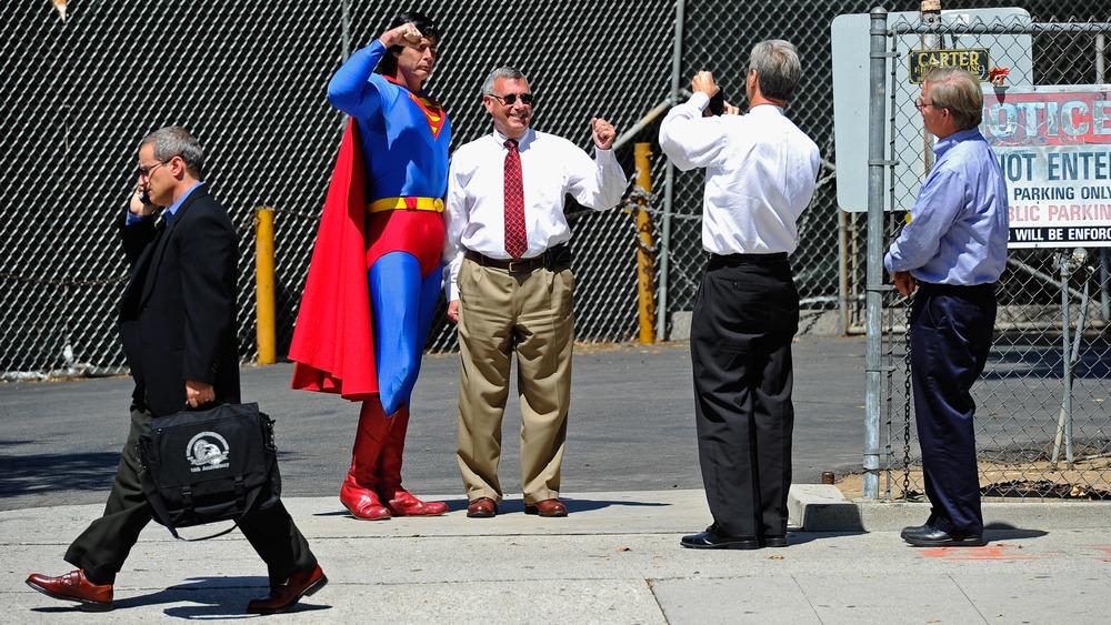 Christopher Dennis, Hollywood Boulevard, Superman