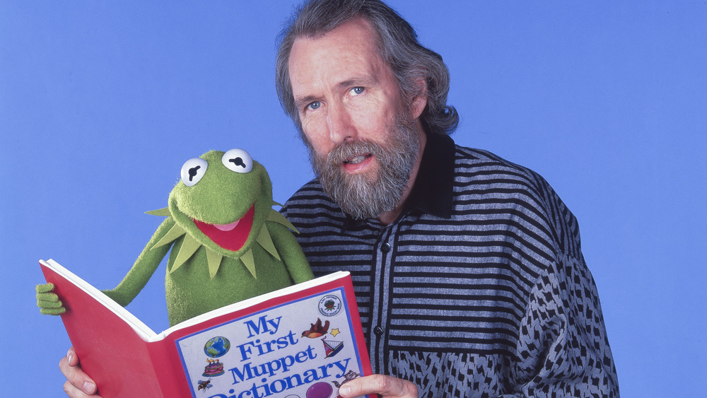 Jim Henson with Kermit