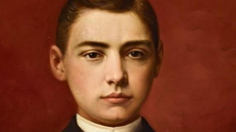 Portrait of Leland Stanford Jr.