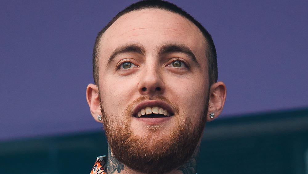 Mac Miller smiling