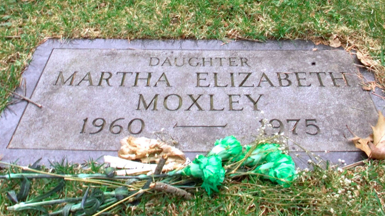 Headstone for Martha Moxley