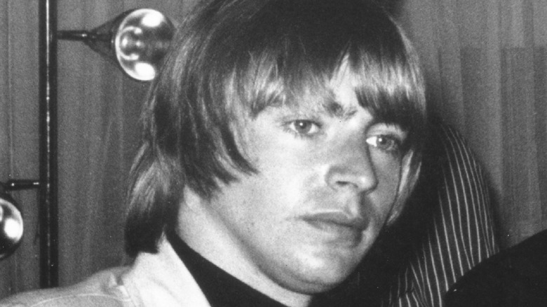 Keith Relf poses for photo