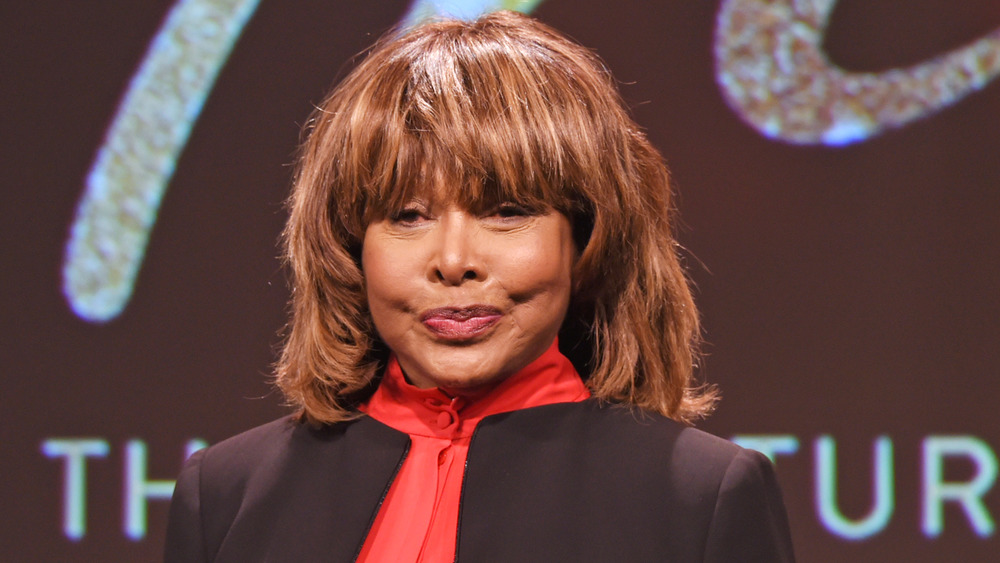 Tina Turner appears in 2017