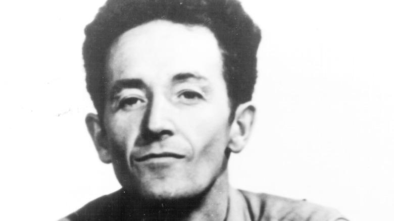 American folk singer and songwriter Woody Guthrie