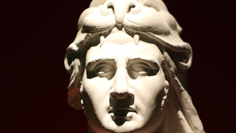 stone statue of Mithridates VI