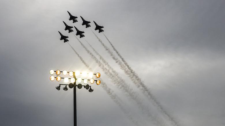 U.S. Air Force flyover