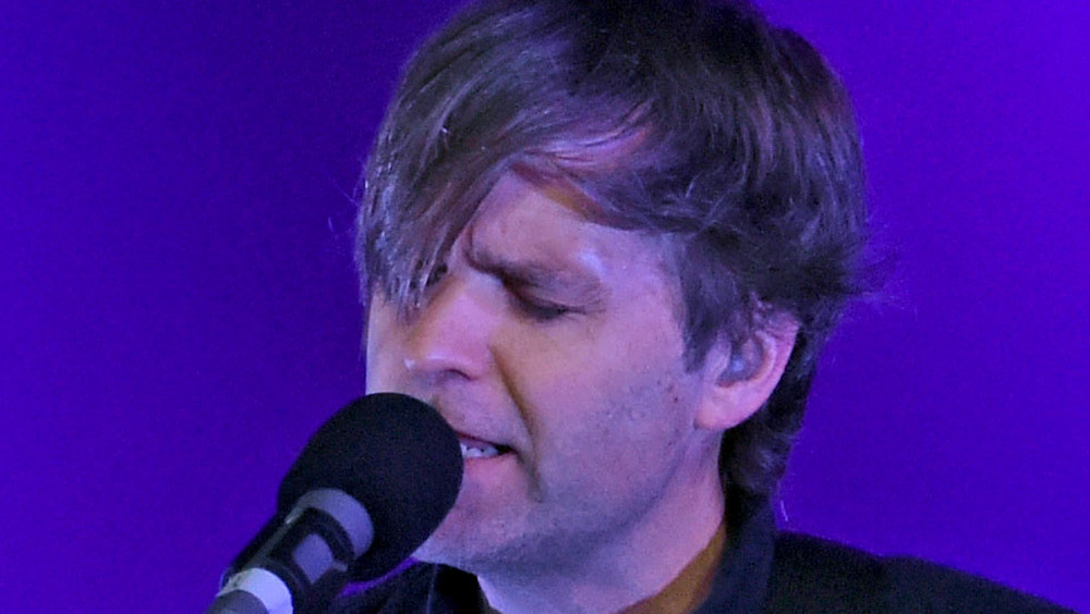 Ben Gibbard at the microphone