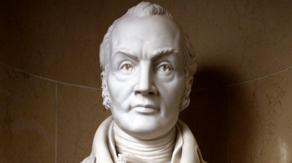 bust of Aaron Burr