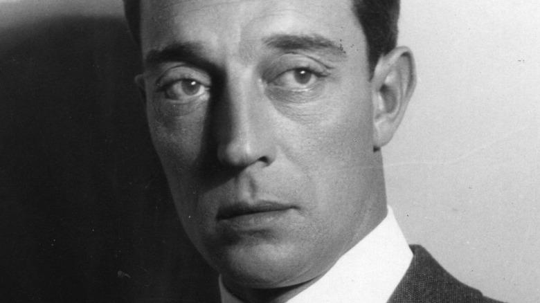 portrait of Buster Keaton in 1924