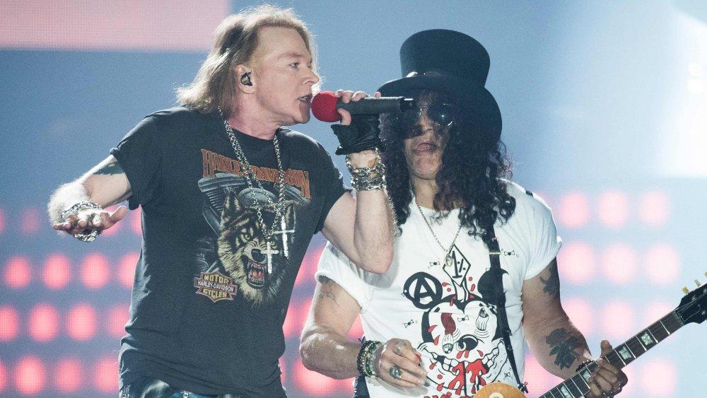 Axl Rose, Slash, Guns N' Roses