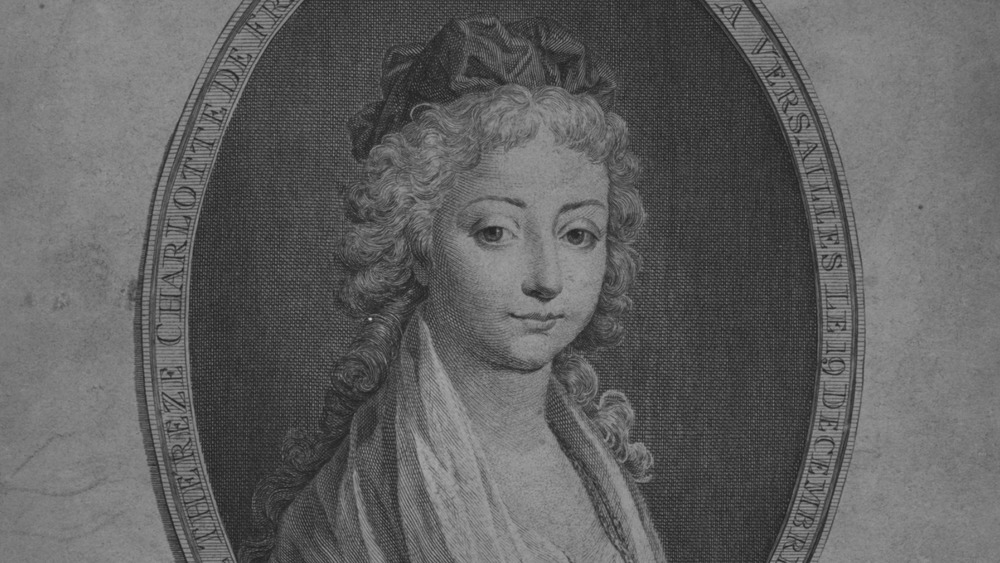 portrait of Marie Therese of France smiling