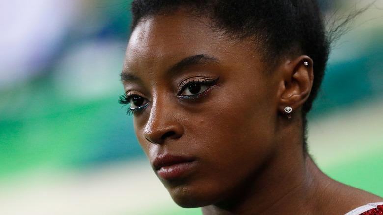 Olympic gymnast Simone Biles