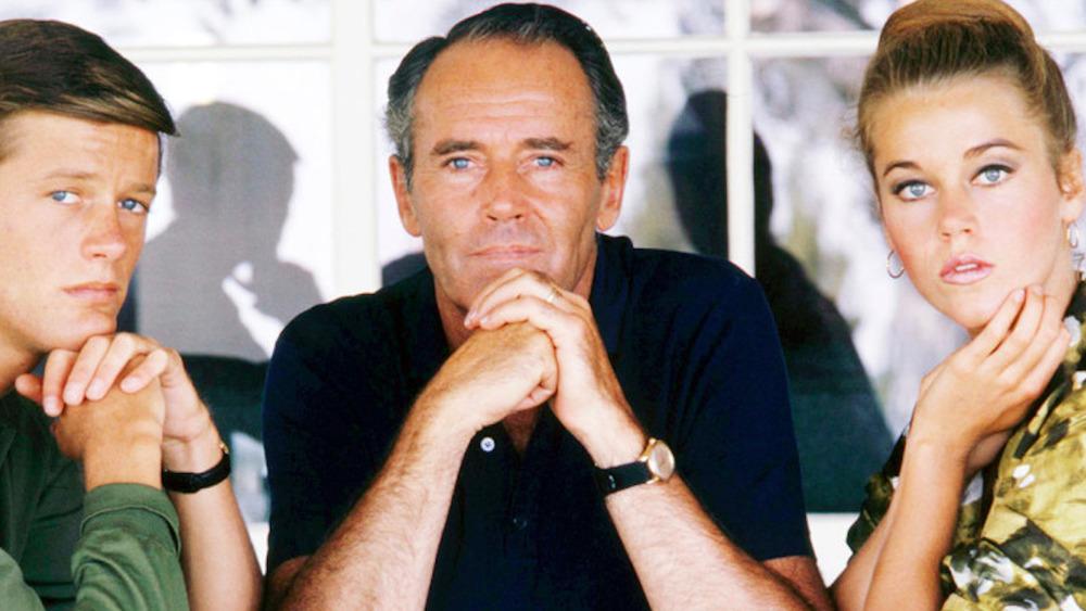 Peter, Henry, and Jane Fonda