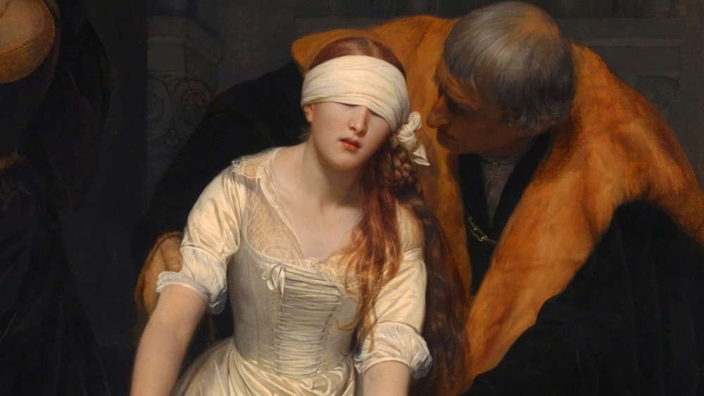 painting of jane grey's execution