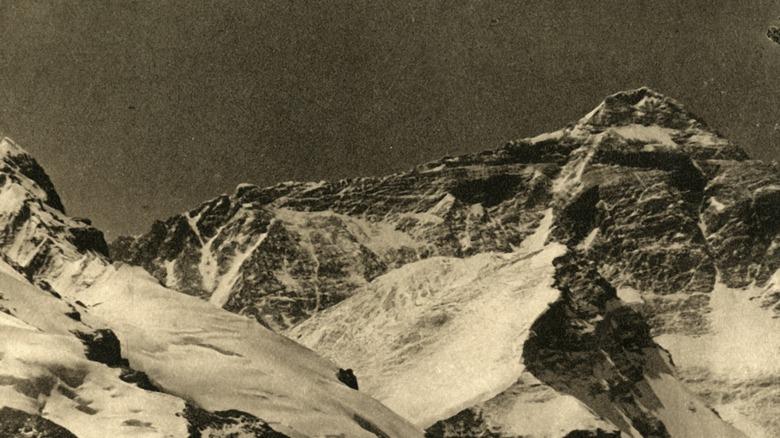 Mount Everest 1918-1939