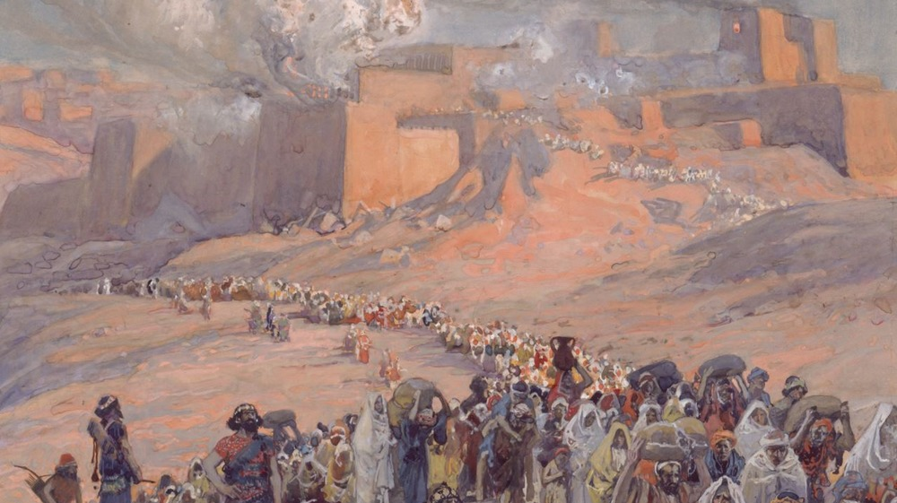 'The Flight of the Prisoners,' 1896-1902, in the Jewish Museum in New York City