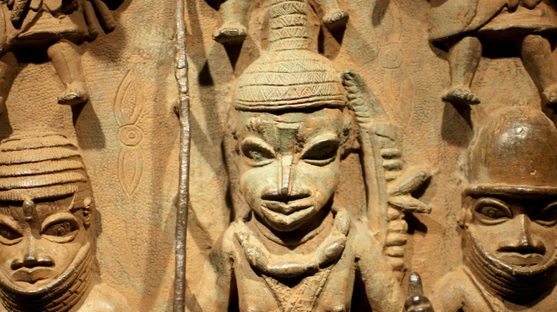 Benin Oba king