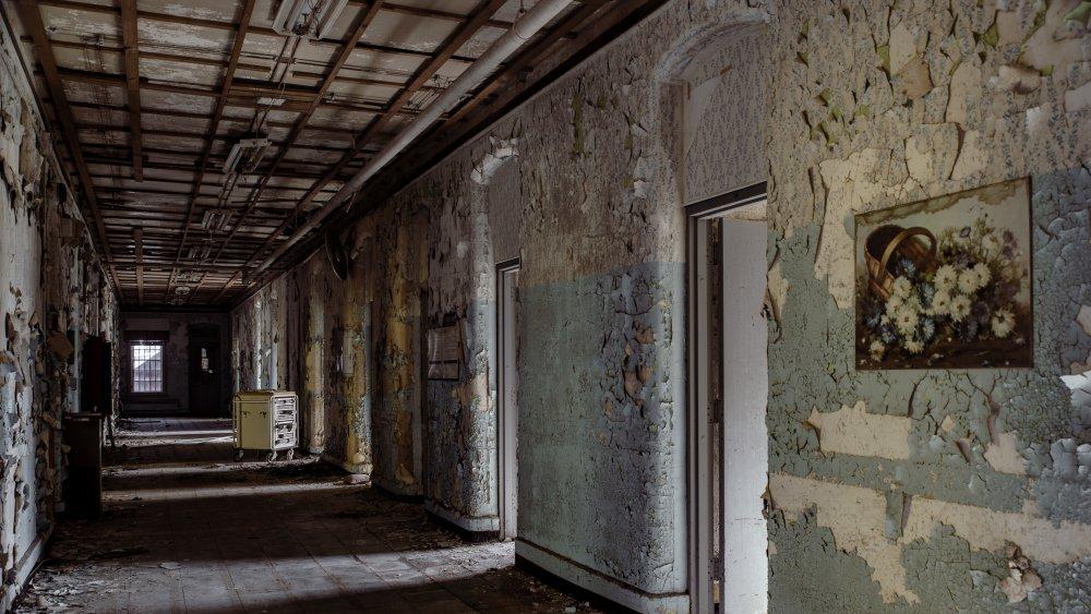 Abandoned Willard Asylum for the Insane/State Hospital in Willard, New York.