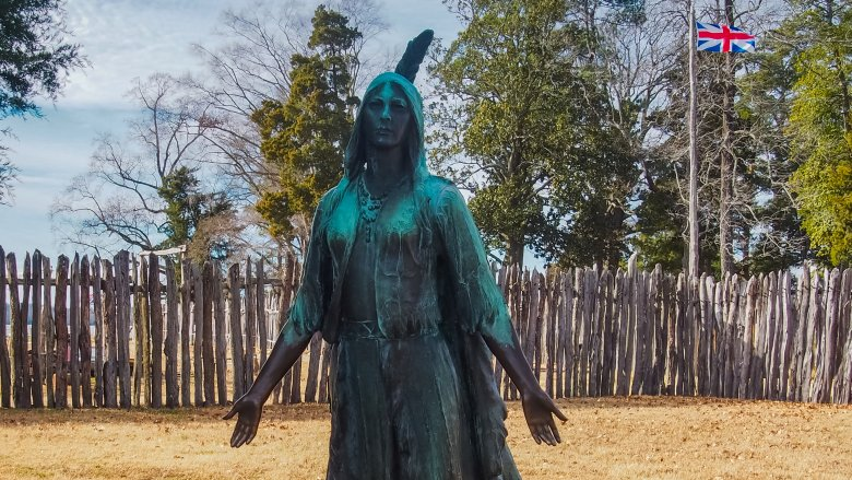 Pocahontas jamestown settlement Virginia va