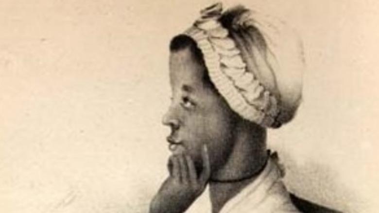 Phillis Wheatley in profile