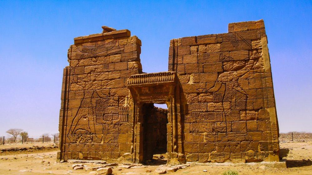 Ruined Kushite Temple