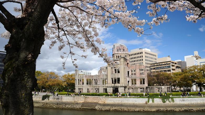 Hiroshima Atomic Bomb Dome memorial