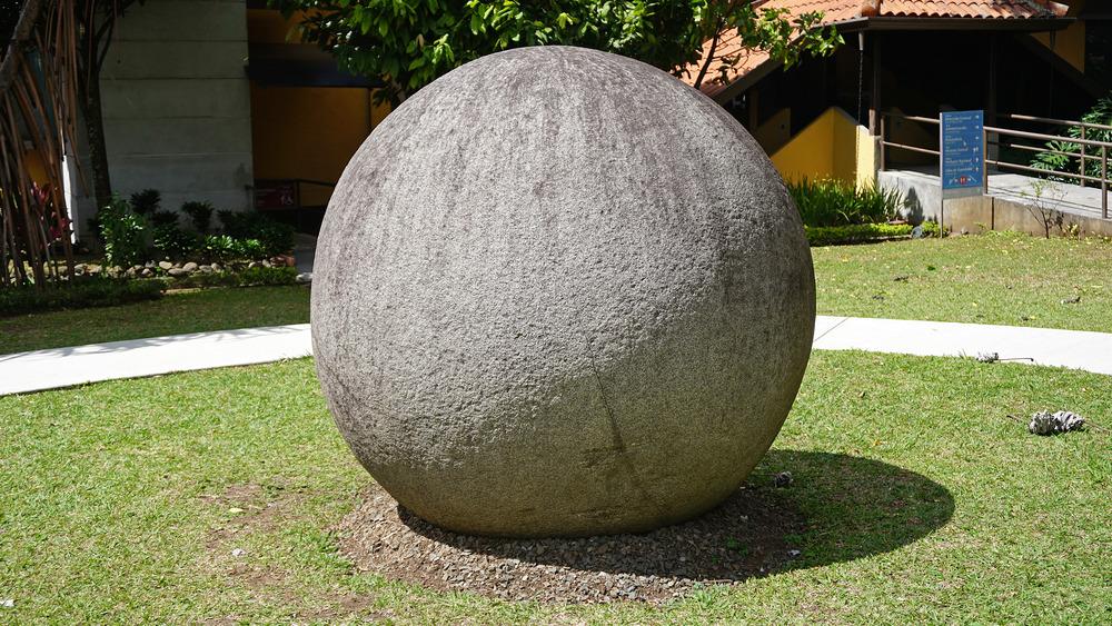 Costa Rica stone sphere
