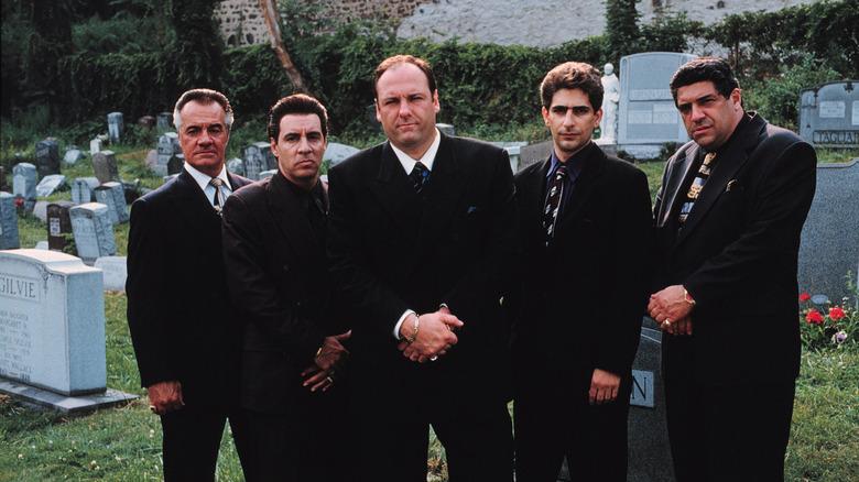 """Promo still from """"The Sopranos"""""""
