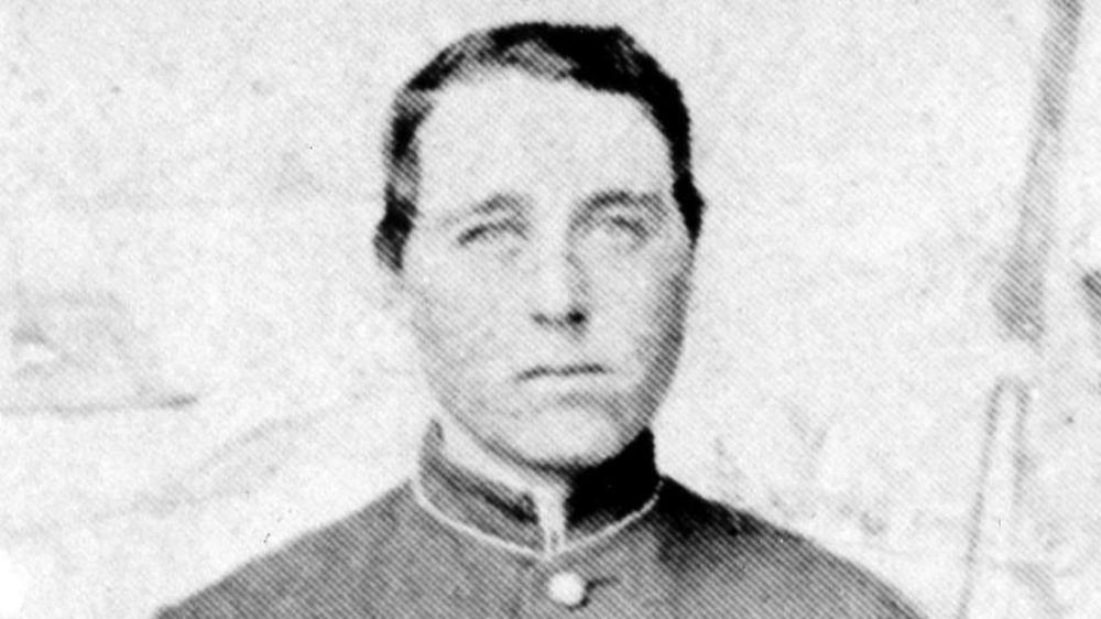 Albert Cashier in uniform