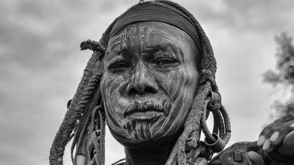 Mursi Tribeswoman, Omo Valley, Ethiopia