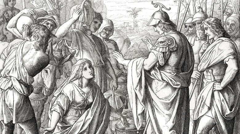 Abigail meets David